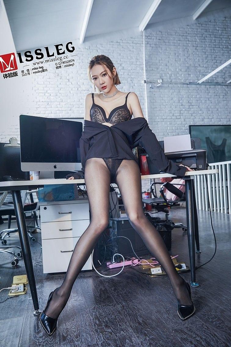 [MISSLEG蜜丝]V014 付艺轩 《OL腿腿腿》